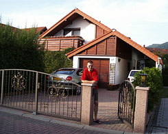 #61 Staying at friends house in Dossenheim (Germany)