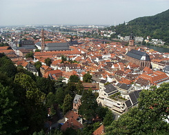 #63 View on Heidelberg city center (Germany)