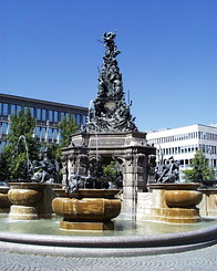 #69 Grupello-Pyramid fountain Mannheim (Germany)