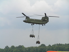 #221 Royal Netherlands Air Force - Boeing CH-47D Chinook (D-103)