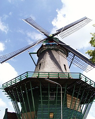 "#233 Flour Mill ""De Bleeke Dood"" (The Pale Death) at Zaandijk (Holland)"