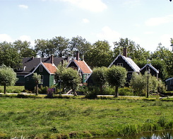 #246 Zaanse Houses at Zaanse Schans (Holland)