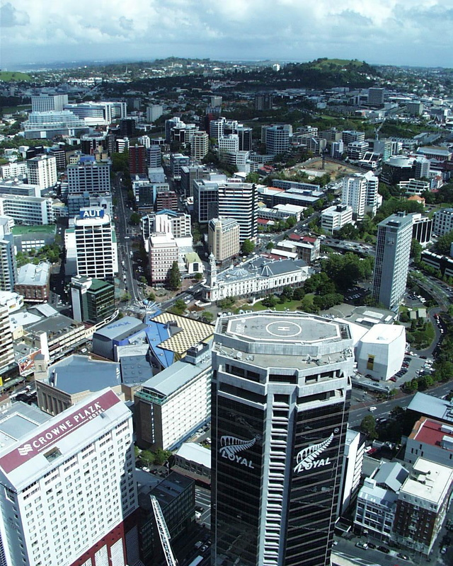 city tower auckland