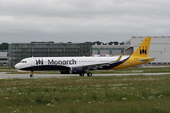 #801 Monarch Airlines - Airbus A321-231SL (D-AVXH / G-ZBAO / MSN 6126)