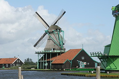#942 Dye Mill De Kat (The Cat) - Zaanse Schans (Holland)