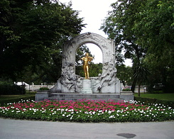 #990 Johann Strauss Monument in the Stadtpark - Vienna (Austria)