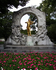 #991 Johann Strauss Monument in the Stadtpark - Vienna (Austria)