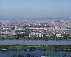 #994 View from Donauturn (Danube Tower) - Vienna (Austria)