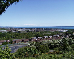 #1021 View at the Belfast Lough (Northern Ireland)