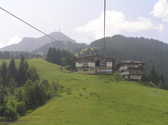 #1077 Harschbichl Gondola (middle station) - St. Johann in Tirol (Austria)