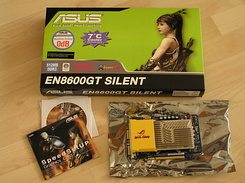 #1312 PC Asus EN8600GT Silent Video Card for my new PC