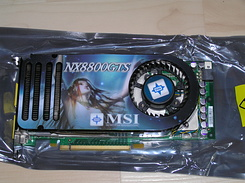 #1325 MSI NX8800GTS OC for my new PC