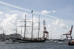"#1342 Dutch Tall Ship ""Oosterschelde"" (Sail Amsterdam 2010)"