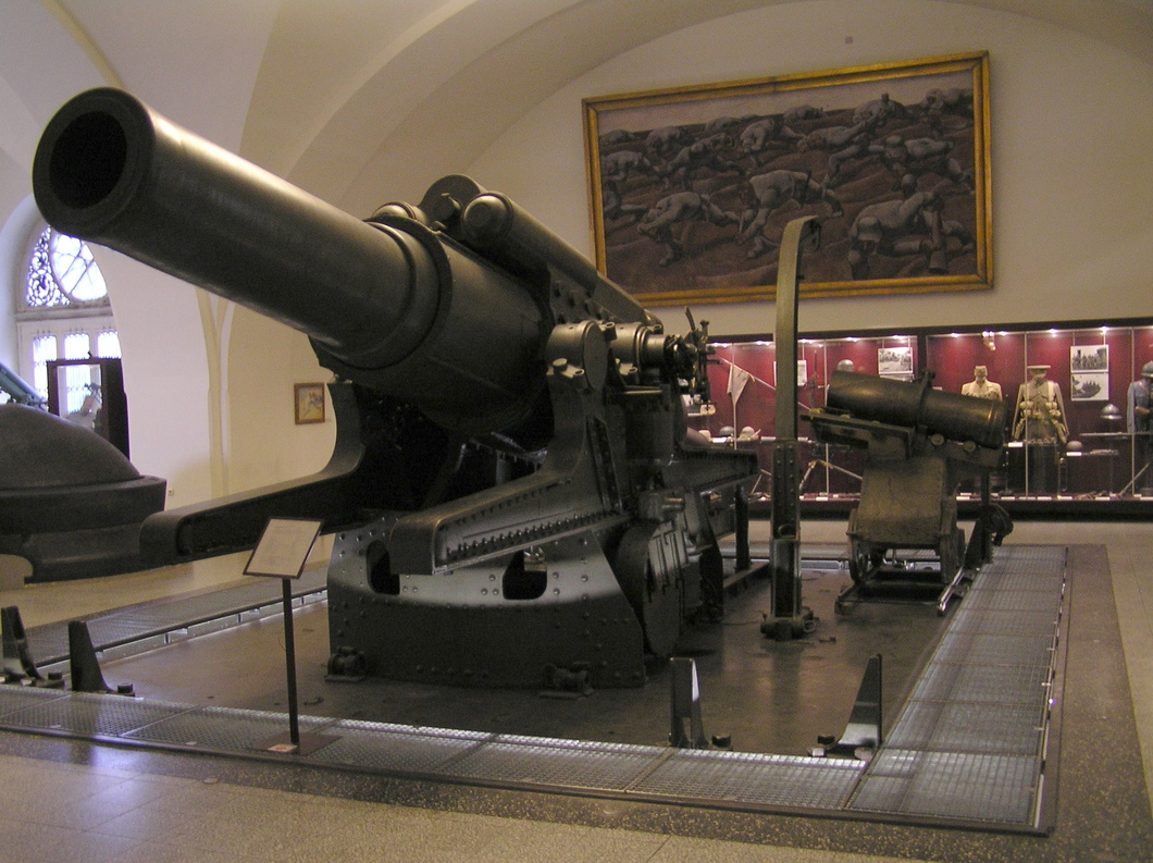 1411 Koda 380mm Model 1916 Howitzer Hgm Vienna