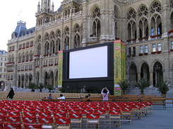 #1513 Music Film Festival at the City Hall Square - Vienna (Austria)
