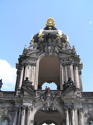 #1750 Zwinger Kronentor (Crown Gate) - Dresden (Germany)
