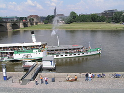 "#1759 Raddampfer (Paddle Steamer) ""Dresden"" - Dresden (Germany)"