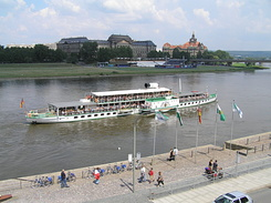 "#1760 Raddampfer (Paddle Steamer) ""Dresden"" - Dresden (Germany)"