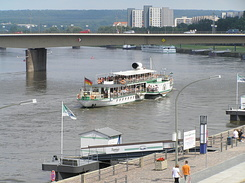 "#1761 Raddampfer (Paddle Steamer) ""Dresden"" - Dresden (Germany)"