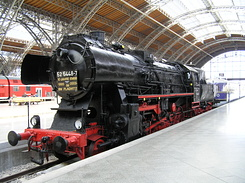 #1789 Steam Locomotive (BR 52 5448-7) - Leipzig Hbf (Germany)
