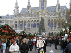 #1811 Viennese Christmas Market at City Hall Square - Vienna (Austria)