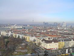 #1865 View from the Viennese giant Ferris wheel - Vienna (Austria)