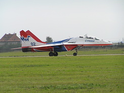 #1982 Russian Air Force (Swifts) - MiG-29UB Fulcrum-B (02 Blue)