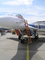 #2014 Russian Aircraft Corporation MiG - MiG-29OVT Fulcrum-F (156 White)