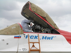 #2105 Russian Aircraft Corporation MiG - MiG-29OVT Fulcrum-F (156 White)
