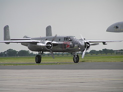 #2111 Red Bull (Flying Bulls) - North American B-25J Mitchell (N6123C)