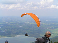 #2143 Paragliding from Tegelberg mountain - Schwangau (Germany)