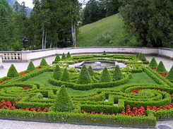 #2256 Terrace Garden at Schloss Linderhof - Ettal (Germany)
