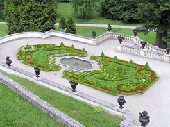 #2258 Terrace Garden at Schloss Linderhof - Ettal (Germany)