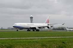 #2902 China Airlines - Airbus A340-313 (B-18805)