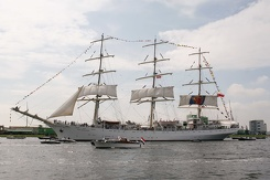 #3450 Polish Tall Ship Dar Młodzieży - Sail Amsterdam 2015 (Holland)