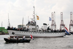 #3476 Dutch Pilot Vessel Castor - Sail Amsterdam 2015 (Holland)