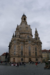 #3513 Dresdner Frauenkirche (Church of Our Lady) - Dresden (Germany)
