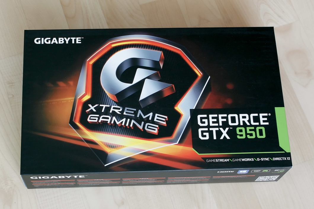 2016-41 New PC - Gigabyte GeForce GTX 950 Xtreme Gaming Video Card.jpg