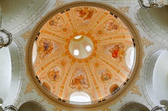#3737 Inner Dome of the Dresdner Frauenkirche - Dresden (Germany)