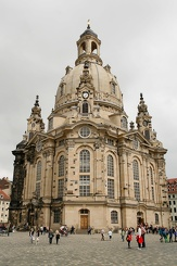 #3754 Dresdner Frauenkirche (Church of Our Lady) - Dresden (Germany)