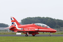 #3969 Royal Air Force (Red Arrows) - British Aerospace Hawk T1 (XX244)