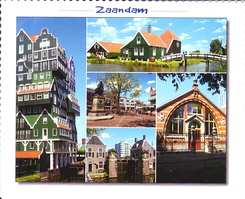 #4128 Postcard NL-3740764 sent to Russia