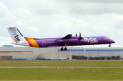 #4261 Flybe - Bombardier Q400 (G-PRPM)
