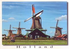 #4329 Postcard NL-3897959 sent to the United States of America
