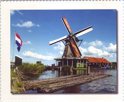 #4337 Postcard NL-3909851 sent to the United States of America