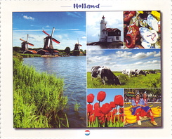 #4342 Postcard NL-3922849 sent to Japan