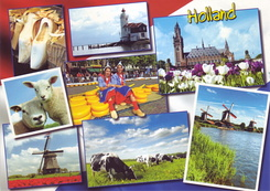 #4354 Postcard NL-3953971 sent to Taiwan