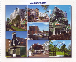 #4357 Postcard NL-3945216 sent to Israel