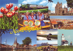 #4364 Postcard NL-3964974 sent to the United States of America