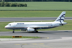 #4435 Aegean Airlines - Airbus A320-232 (SX-DGN)